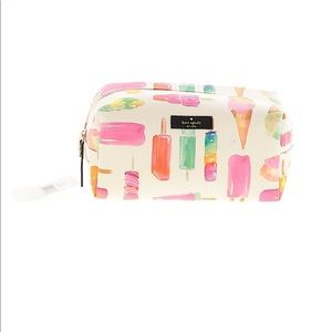 KATE SPADE Popsicle Cosmetic Bag NEW